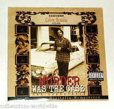 "SEALED & MINT - SNOOP DOGG - MURDER WAS THE CASE - DOUBLE 12"" VINYL LP ALBUM"