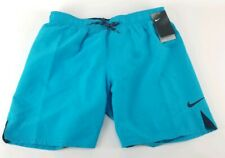 $48 Nike Water Repellent Swim Trunks Shorts Blue Size Large New