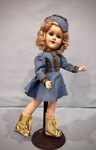 "14""  Vintage Madame Alexander Composition Sonja Henie Doll - NICE!"