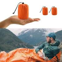 Reusable Emergency Sleeping Bag Thermal Waterproof Survival Camping Travel Bags
