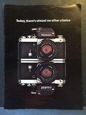 Genuine Vintage Nikon Advertising Photojournalists's System Lotti Dale Smith