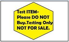 Test Item - DO NOT BUY- NEw