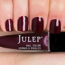 NEW! Julep nail polish MARLA ~ Burgundy velvet with silver shimmer ~ full size