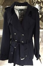 NWOT CLASSIC CHANEL ICONIC  Trench Coat  Plane JACKET RARE most sought after