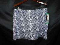 Tranquility XL NWT Everyday Skort Black White Skirt Shorts Static Drift Stretch