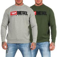 DIESEL S-Crew-Division Sweatshirt Herren Pullover Sweater Pulli