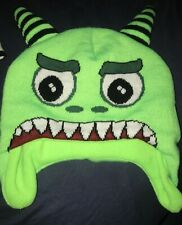 Lime Green Monster Sock Hat - All Sales Proceeds Go To *HDBR*