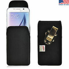 Turtleback Samsung Galaxy S6 Nylon Pouch Holster Phone Metal Belt Clip Case