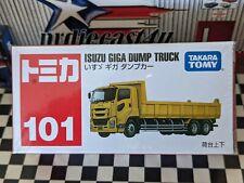 Tomica #101 Isuzu Giga Dump Truck New In Box