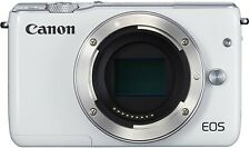 Appareil photo hybride Canon EOS M10 boîtier blanc écran tactile (Body)