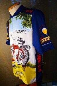 mens xxl Pearl Izumi Fat Tire Ale cycling jersey