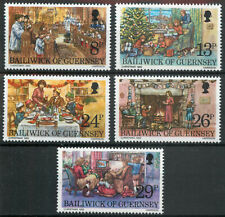 Guernsey 1982 Christmas set MNH unmounted mint *COMBINED SHIPPING*