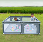 Baby Safety Play Yard Kid Activity Center Portable Large Playpen Fence Ball Pit