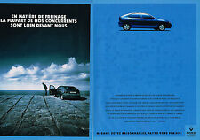 PUBLICITE ADVERTISING  1995   RENAULT  MEGANE  ( 2 pages)