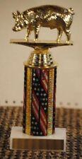 "10"" Hog Pig Trophy Award - Free engraving"