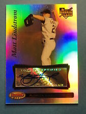 2007 Bowman's Best: Matt Lindstrom #92 RC Auto / Houston Astros / Marlins