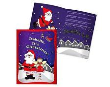 PERSONALISED CHRISTMAS FAIRY STORY BOOK - LET YOUR CHILD BE THE STAR - NEW