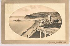 J WELCH & SONS POSTCARD  TEIGNMOUTH FROM EAST CLIFF 1910