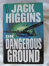 On Dangerous Ground by Jack Higgins 1994 Hardcover W/DJ 1st Edition