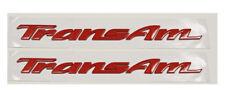 New!! 1993-2002 Pontiac Firebird Trans Am Door Plate Emblem Letters 93-02 RED