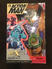 Action Man Dr X with flowing toxic gut Package Wear