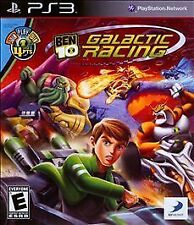 Ben 10 Galactic Racing - Playstation 3 Brand New Sealed Free Fast Shipping