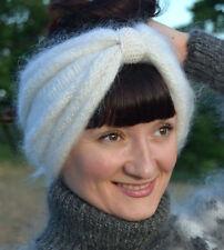 Stretchy Head Wrap Band Headband Cashmere Mohair Angora Ski Earband Winter