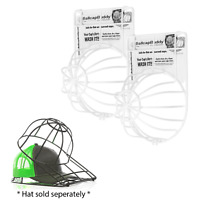Ballcap Buddy Cap Washer Hat Washer Ball Cap Cleaner 2-pack white - Made in USA