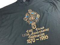 CME Church T-Shirt VTG 1995 Mens 2XL Birmingham Alabama Methodist Christian God
