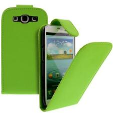 Para Samsung Galaxy S3/i9300 Móvil Funda con Tapa Funda Bolso Verde