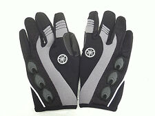 Yamaha Motorcycle Gloves Gray MAR-07GFF-GY-XS Extra Small 1 Pair