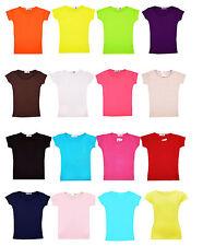 fille UNI GYM & DANSE haut enfants T-shirt manches courtes NOUVEAU âge 2-13 ans