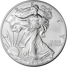 2012 American Silver Eagle - Brilliant Uncirculated