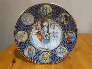 "Franklin Porcelain  ""CINDERELLA"" Plate - 1978 by Pauline Ellison"