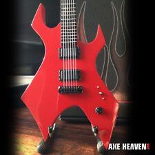 SLIPKNOT (Mick Thompson) Sig. Red Warlock 1:4 Scale Replica Guitar ~Axe Heaven