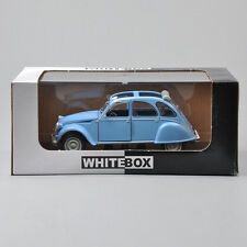 Whitebox MODELS 1:24 Alloy Diecast Citroen 2 CV 4(1976)Blue Car Model Toy