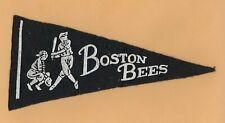 1930s BOSTON BEES baseball mini pennant 8 inches long