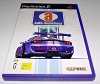 Auto Modellista PS2 PAL *Complete*