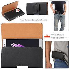 Funda Para Todos Los Samsung Galaxy Clip para cinturón bolso de la cintura de cuero magnético móvil de la bolsa