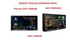 PIONEER 2018 AVIC-F80DAB Q1 EUROPEAN GPS MAPS - AVIC-F80DAB-C AVIC-F88DAB