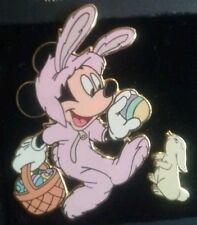 Disney MOC 2010 LE 2400 DLR Easter Egg Hunt Bunny Mickey Rabbit 2 Pin Set