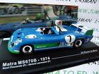 1/43 IXO altaya 24 heures du Mans MATRA MS670B winner 1974