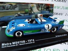 24H67M 1/43 IXO altaya 24 heures du Mans MATRA MS670B winner 1974