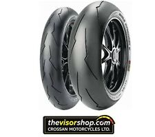 SET Pirelli 120/70/zr17 & 180/55/zr17 DIABLO SUPERCORSA SP V2 Motorcycle Tyres