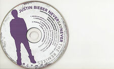 JUSTIN BIEBER NEVERSAYNEVER THE REMIXES siehe Foto und Text