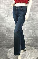 NWT Burberry Runway 98% Cotton Blue Jeans Pants Slacks 10 US 46 IT M