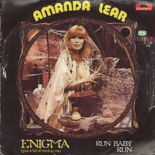 ENIGMA (give a bit of mmh to me) - RUN  BABY RUN # AMANDA LEAR
