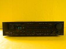 VINTAGE DENON DRA-550 TUNER AMP PRECISION AUDIO COMPONENT,  BLACK ~ TESTED