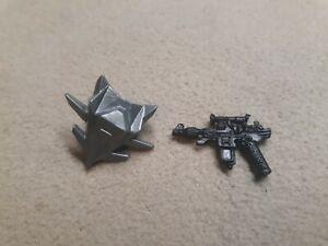 Vintage GI Joe Cobra Commander Gun and Backpack ARAH 1987 - NICE
