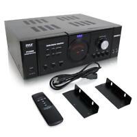 NEW Pyle PT3300 3000 Watt 4 Channel 3U Power Amplifier VFD Display W/ Remote